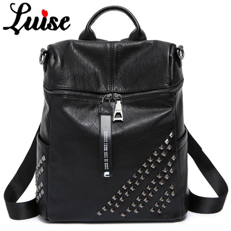 Fashion, Genuine, Girls, Bags, School, Travel