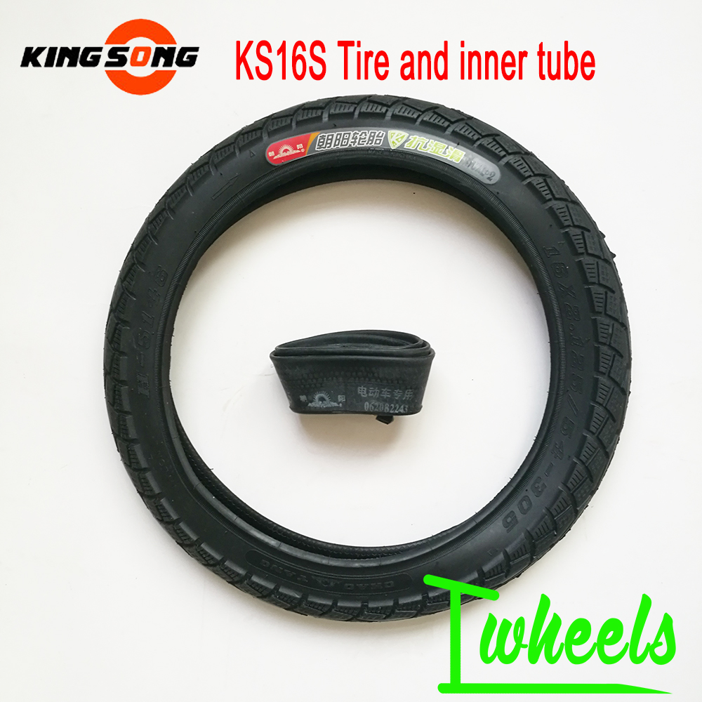 Original King Song KS16s tire electric unicycle 16 2 125 tire inner tube 54 305 tire