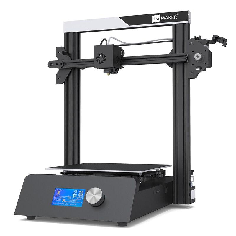 DDKUN 2019 imprimante 3D imprimante magique kit de bricolage en métal grande taille de construction 220*220*250mm 3D Ducker reprendre hors tension cadeaux gratuits