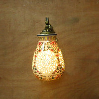 Chinese style ceramic wall lamp ofhead vintage ceramic wall lamps wall lights Living Room Dining Room Bathroom