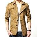 Blazer Moda Paletó Blazer Bonito dos homens de alta Qualidade Dos Homens Slim Fit Marca Roupas Sólida Homme Traje Plus Size M-4XL