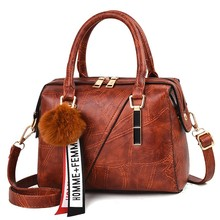 Leather Handbags Small Women Bag High Quality Casual Female Bags Trunk Tote Spanish Brand Shoulder Bag Ladies Large Bolsos YaDuo