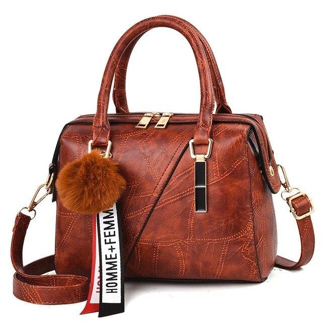 Leder Handtaschen Kleine Frauen Tasche Hohe Qualität Casual Weibliche Taschen Stamm Tote Spanisch Marke Schulter Tasche Damen Große Bolsos YaDuo