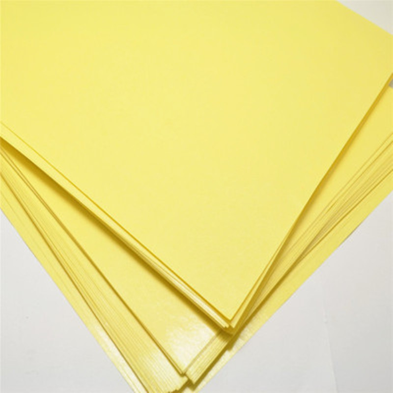 10pcs A4 Toner Heat Transfer Paper Yellow For DIY PCB Electronic Prototype Mark