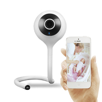 Smart Home Baby Monitor Crying Alarm Mini Wifi Camera 1080P HD Cloud Storage P2P Infrared Wide Angle Vision IP Security Camera