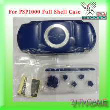 For PSP case 1000 Full Shell Case With Buttons Kits For PSP1000 PSP 1000 Housing Shell(China)