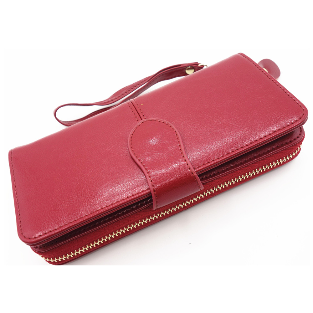 High Quality Women Brand genuine Leather Clutch Wallet,Female Long Purse,Lady Multi-function Coin Purse Phone Wallet card Holder 2017 genuine cowhide leather brand women wallet short design lady small coin purse mini clutch cartera high quality