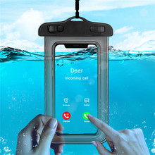 Universal Waterproof Case For iPhone X XS MAX 8 7 6 s 5 Plus Running Sport Phone Pouch Bag Cover Coque