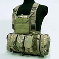RRV chest harness tactical vest military equipment airsoft paintball vest tactical accessories combat molle system