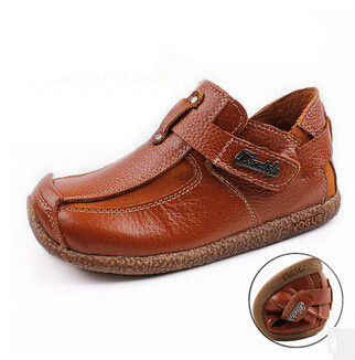 2017 new fashion children shoes Genuine leather shoes boys shoes hot-selling