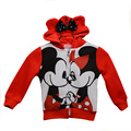 Hot Sale New Baby Boys Girls Mickey and Minnie Cartoon Coat Kids Casual Hoodies Outerwear Children Jackets Clothing YY0456