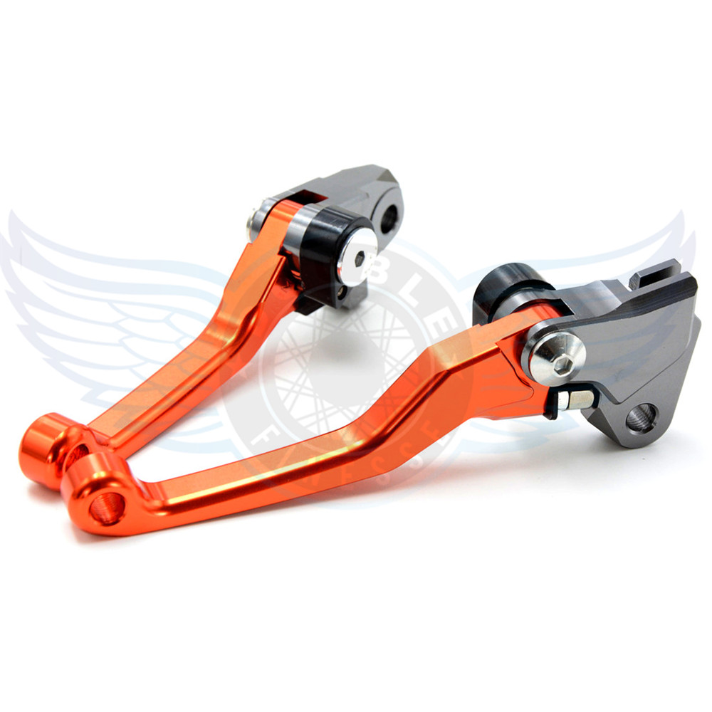 ФОТО motorcycle Pivot Brake Clutch Levers CNC lever  For Yamaha YZ250F   2001 2002 2003 2004 2005 2006