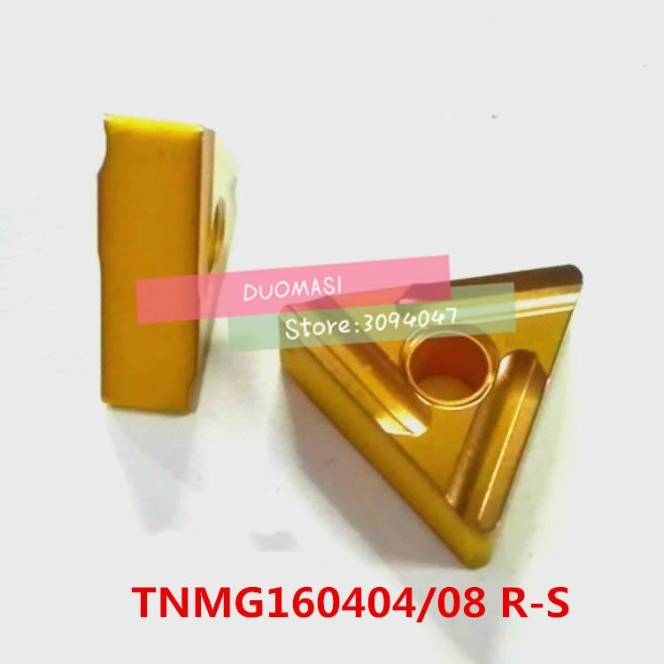 Купить с кэшбэком 10PCS TNMG160404 / TNMG160408 R-S carbide CNC inserts,CNC lathe tool,Processing steel preferred,insert MTJNR turning tool