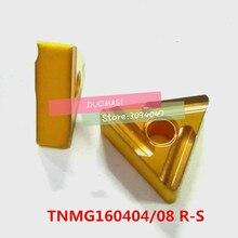 10PCS TNMG160404 / TNMG160408 R-S carbide CNC inserts,CNC lathe tool,Processing steel preferred,insert MTJNR turning tool
