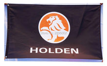 Holden Racing Team Car Flag Polyester grommets 3′ x 5′ Banner metal holes Flag Custom Flag