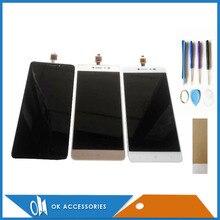 Продажа Черный, белый цвет золото Цвет для BQ-5204 BQ 5204 Strike селфи ЖК-дисплей Дисплей + Сенсорный экран планшета Ассамблеи с инструментами ленты 1 шт./лот