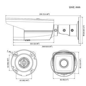Image 4 - の Hikvision オリジナル弾丸 IP カメラ DS 2CD2T85FWD I8 8mp ネットワーク有線 PoE 80 メートル ir 固定セキュリティカメラ内蔵 sd カードスロット