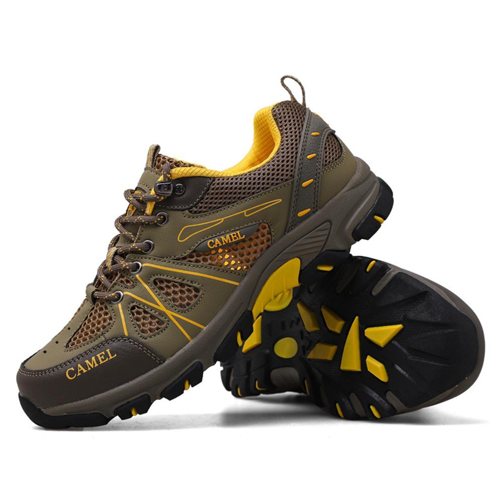 Sports-Shoes New Mesh Men Hobbylane Breathable Hiking Outdoor And Large-Size Hot Men's