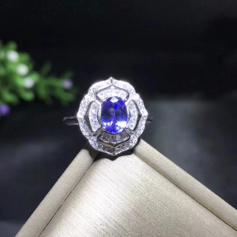 HTB1gEeDa.vrK1RjSszfq6xJNVXaD - Uloveido Natural Tanzanite Ring for Women 925 Sterling Silver Wedding Jewelry