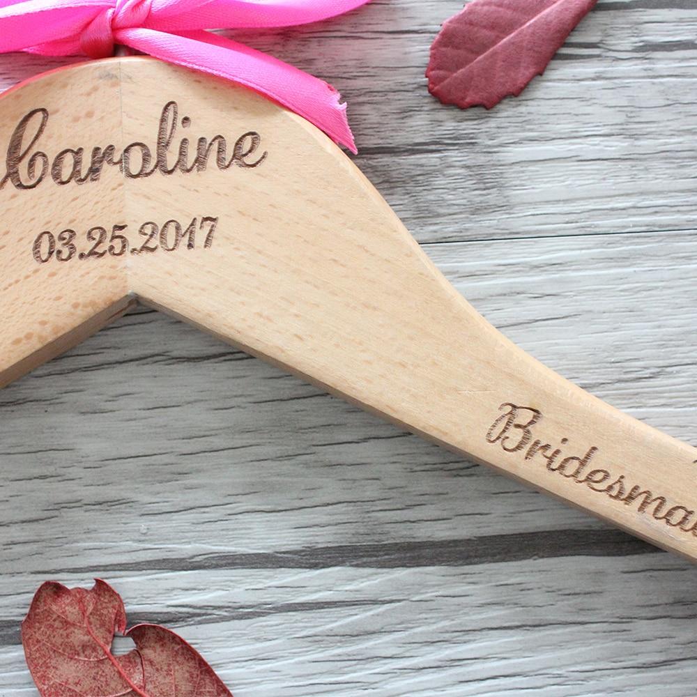 Personalisierte Hochzeit Aufhänger für Braut und Bräutigam ...