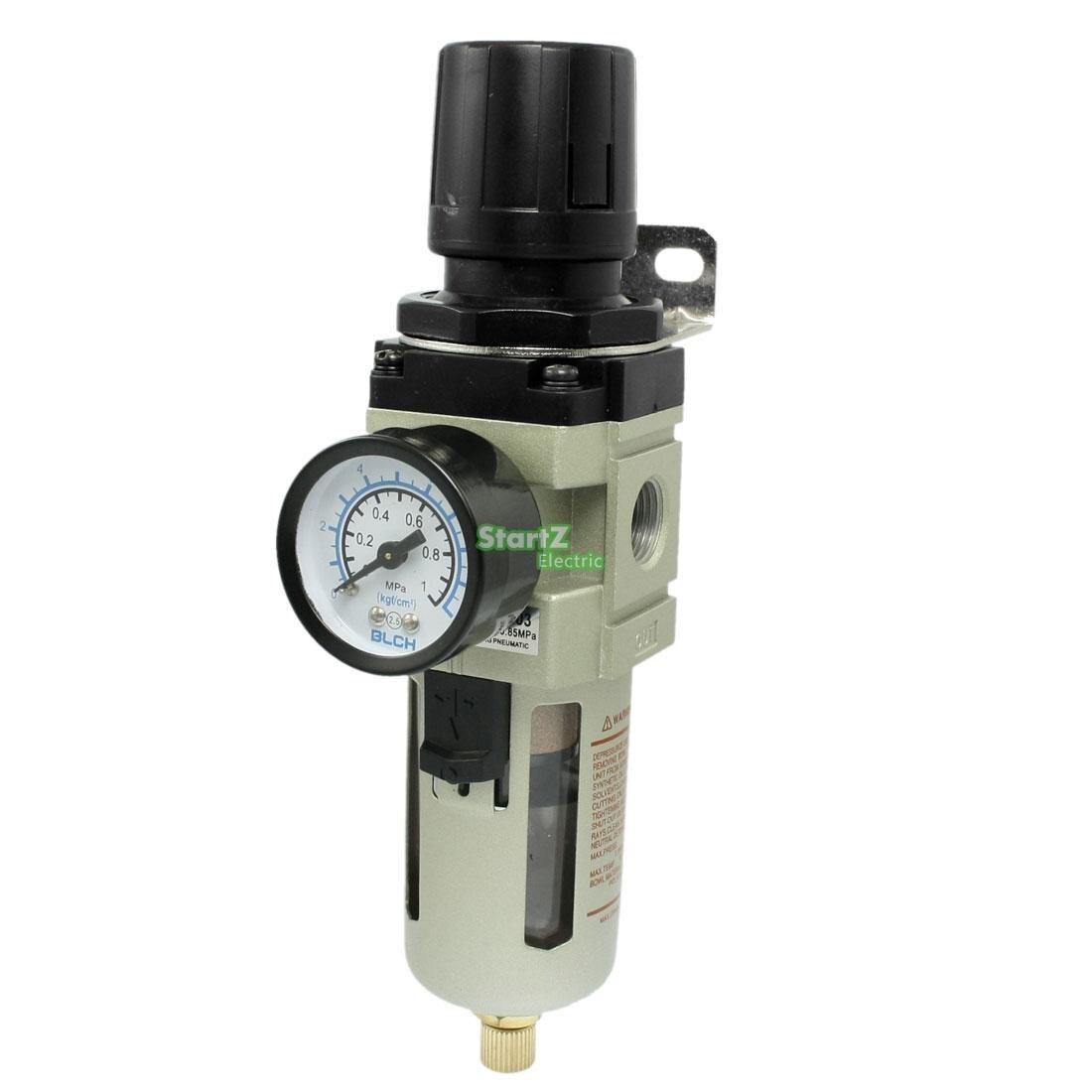 AW4000-04 G1/2'' Standard Type SMC Type Air Filter Regulator Air Treatment Units цена и фото