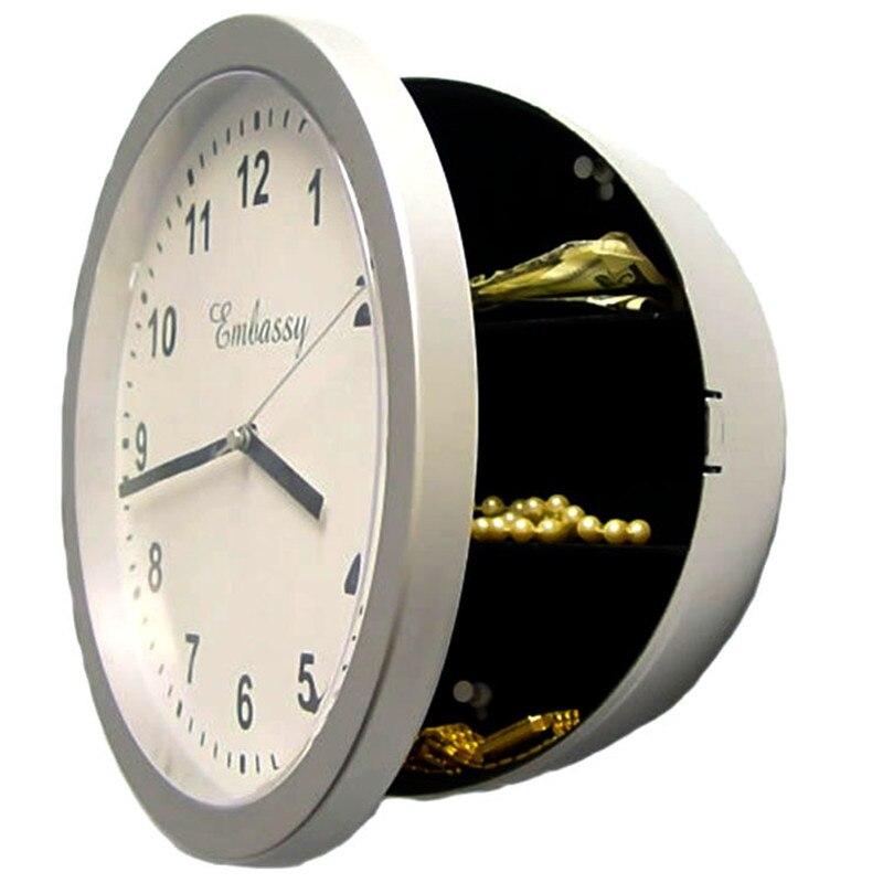 Творческий будильник Сейф часы ящик для хранения ювелирных изделий Невидимый коробка для ...