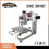 NEW DIY Mini CNC 3018C CNC Engraving Machine Laser Engraving PCB PVC Milling Machine Wood Router