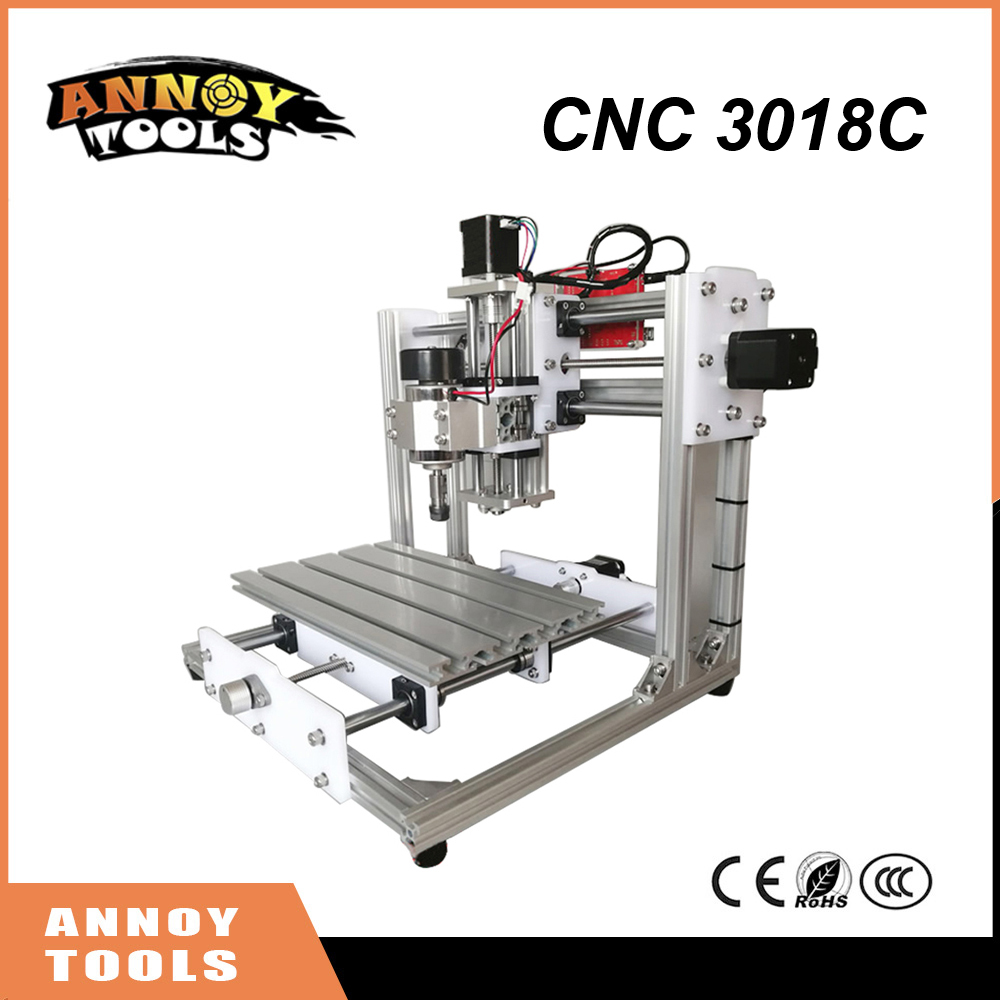 NOUVEAU DIY Mini CNC 3018C CNC Machine De Gravure, Laser Gravure, PCB/PVC Fraiseuse, Bois Routeur, GRBL, meilleur Avancée Jouets