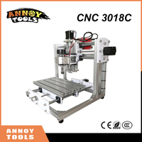 NEW DIY Mini CNC 3018C CNC Engraving Machine Laser Engraving PCB PVC Milling Machine Wood Router