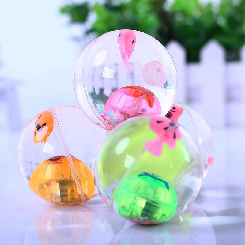 Сверкающий светящийся мяч резиновый прыгающий мяч антистрессовый подарок веселые игрушки для детей-40