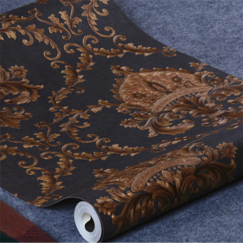 beibehang Luxury gilt Damascus Damascus Luxury Background Wallpapers European Wall Paper for Living room Bedroom Wallpaper Roll luxury wallpaper 3d fashion leather wall paper roll living room bedroom wallpapers soft wrapped background wallpaper for walls