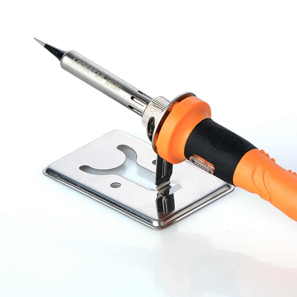새로운 50*80mm 간단한 납땜 인두 스탠드 y 형 전기 납땜 인두 지원 프레임