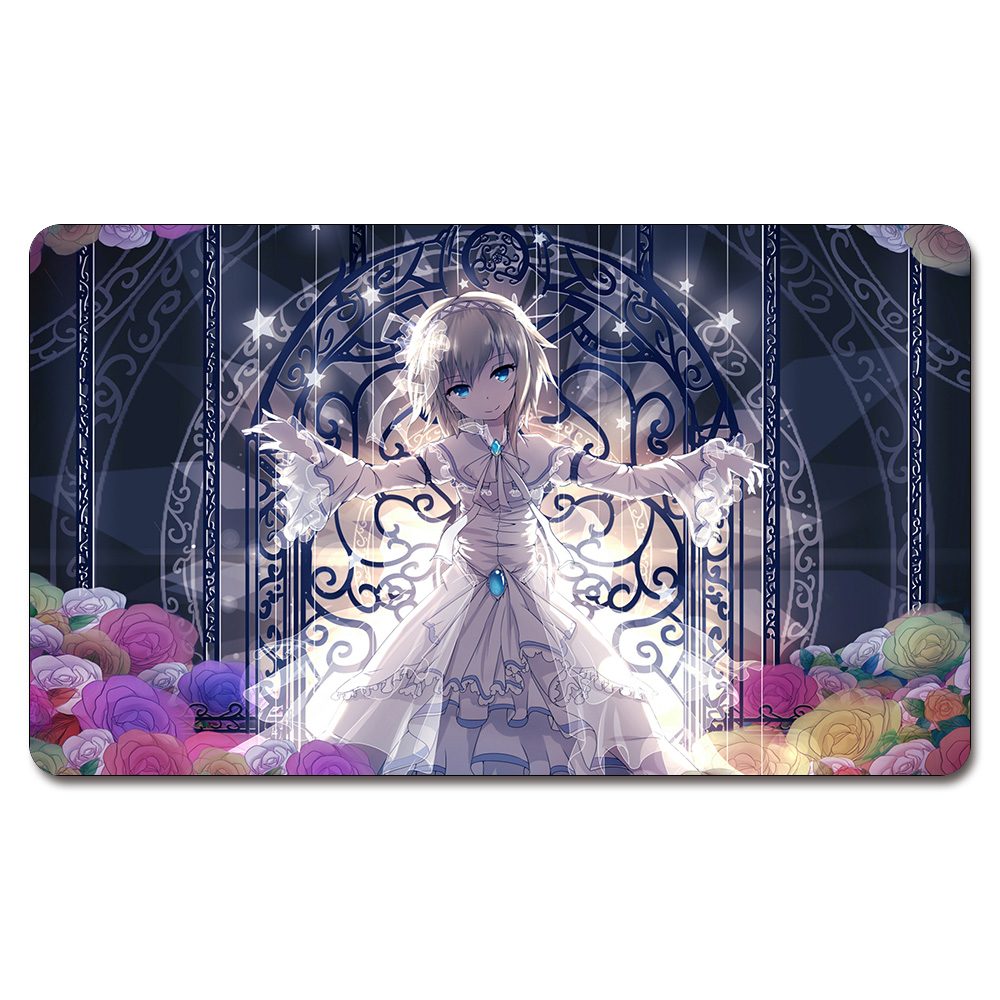 (Trakker Trail of Dust Playmat) 525 Custom Anime Board Games Sexy Play Mat Card Games Custom Big Pad with Free Storage Bag