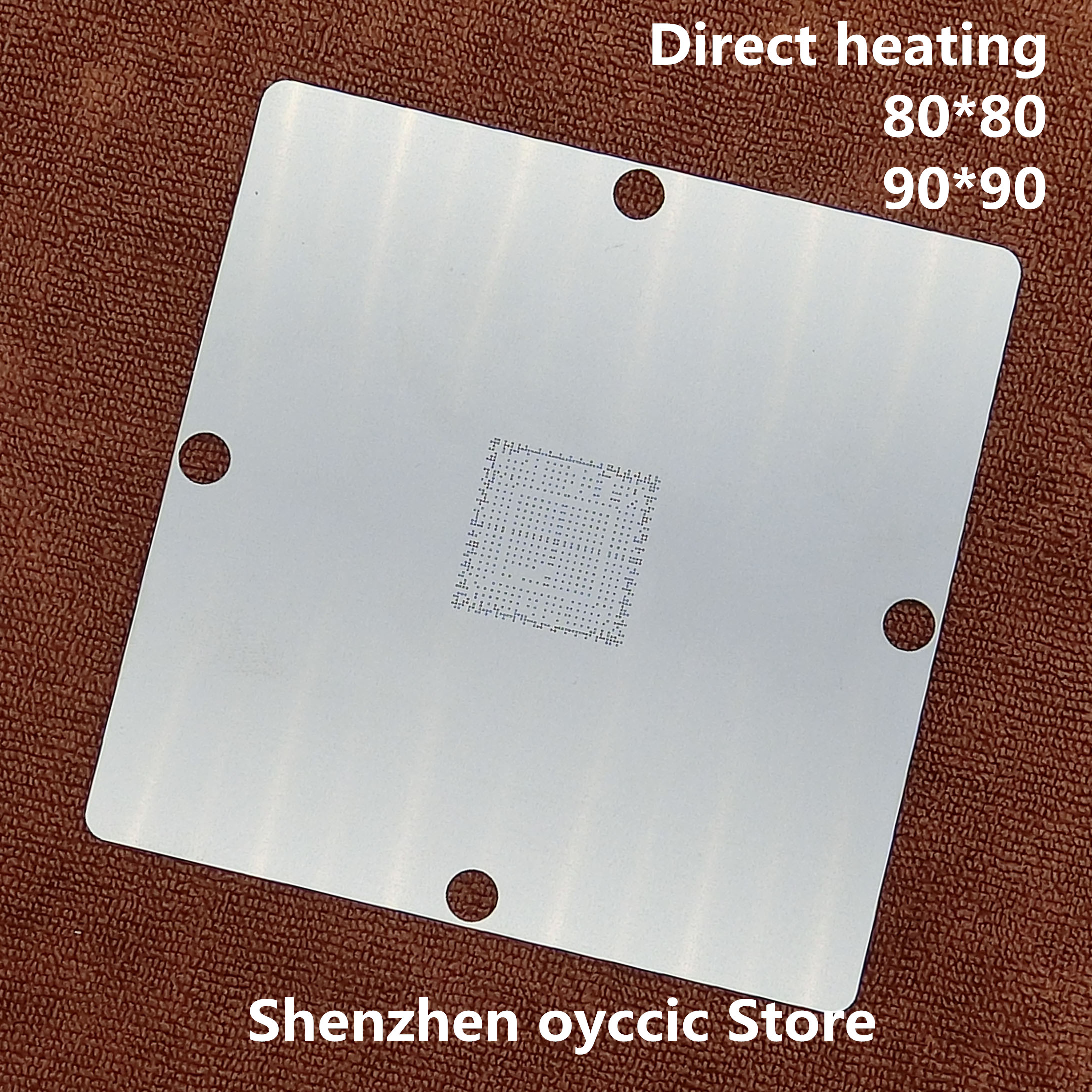 Direct Heating 80*80 90*90  DE3114-A1   88DE3114-A1  DE3214-BO  DE3214-B0  BGA Stencil Template