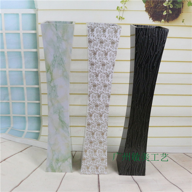 Factory Direct Wood Floor Vase Flower Arrangement Device Ornaments