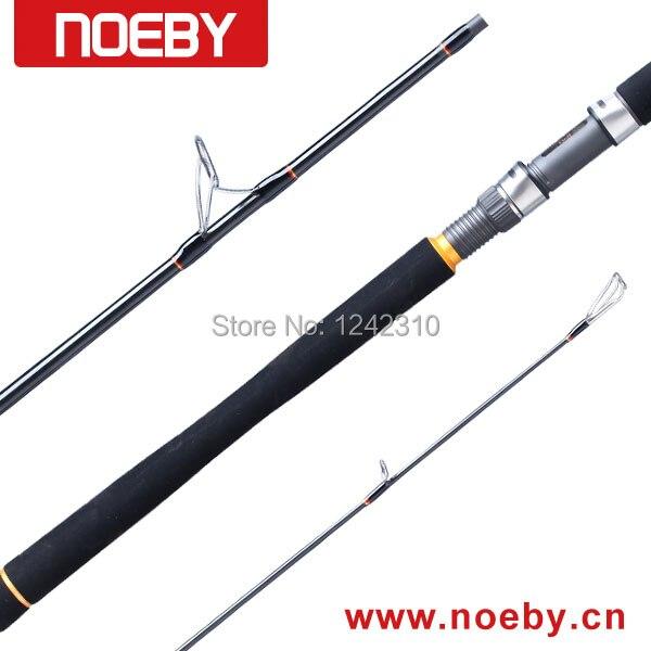 Noeby INFINITE NBB822MH Spinning carbono caña de pescar la barra ...