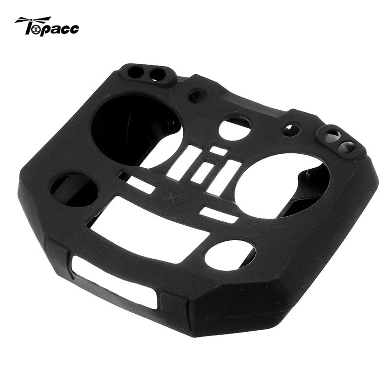 Transmitter Silicone Case Cover Shell Spare Part for FrSkY ACCST Taranis Q X7 Remote Controller Conteol Accessories Accs Parts travel aluminum blue dji mavic pro storage bag case box suitcase for drone battery remote controller accessories