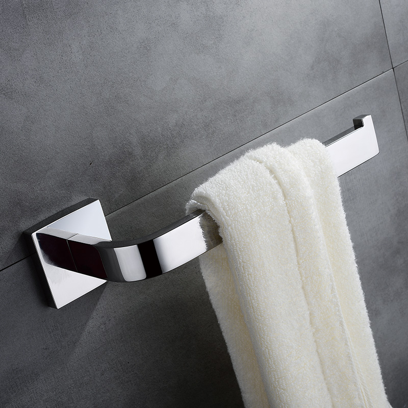 AUSWIND Modern Square SUS 304 Stainless Steel Polished Toilet Paper Holder Wall Mounted Bathroom Lavatory N209 stainless steel wall mounted waterproof toilet roll paper holder of high capacity for toilet hotel and bathroom