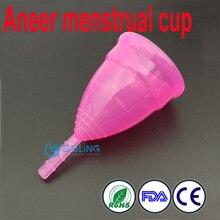 Кубок менструальный леди кубок медицинского силикона менструальный кубок женская гигиена продукт менструации мягкие diva кубок FDA opp упаковка