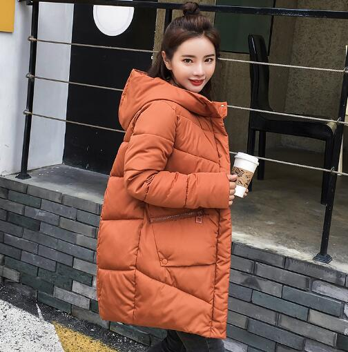 2018 Maternity Pregnant Winter Parkas Women Warm Thicken Hooded jacket coat Cotton Padded Parkas coat hijklnl 2017 new winter female cotton jacket long thicken coat casual korean style women parkas overcoat hyt002