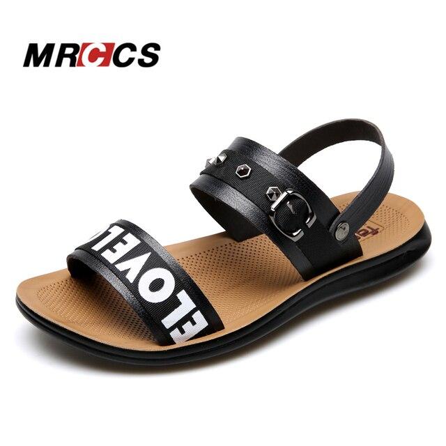 2640e4252aaa0 MRCCS New Men s Sandals Summer Slippers