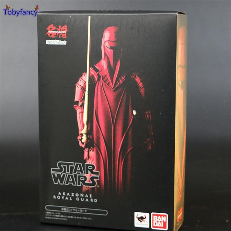 Tobyfancy Star Wars Action Figures Akazonae Royal Guard 17cm Red Movie Realization Anime Star Wars Figures Toys шторы тканевые brenda royal guard