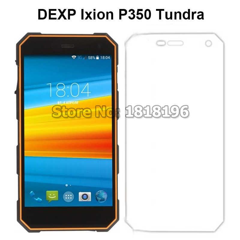 "Vidrio templado para DEXP Ixion P350 Protector de pantalla 9 H película protectora LCD para DEXP Ixion P350 Tundra 5,0"" smartphone película de vidrio"