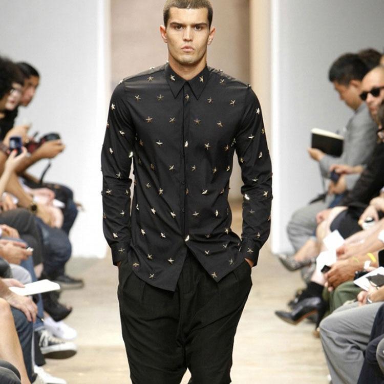American black shirts party dresses
