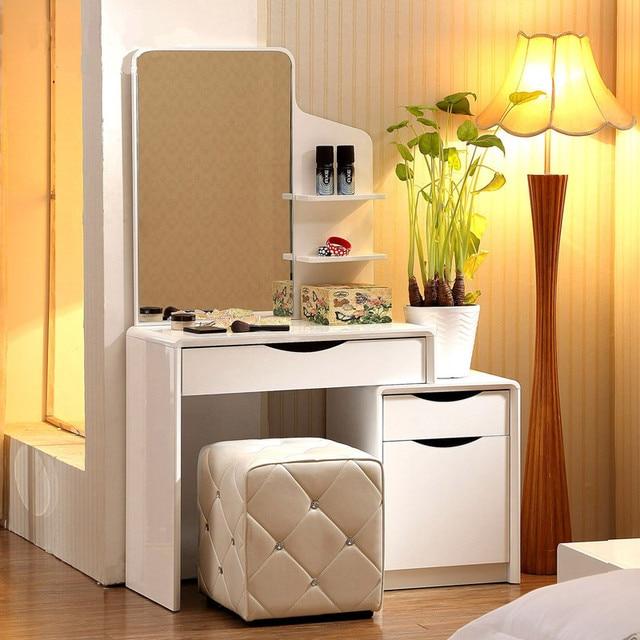 dresser bedroom dresser dressing table minimalist modern small apartment mini dressing table. Black Bedroom Furniture Sets. Home Design Ideas
