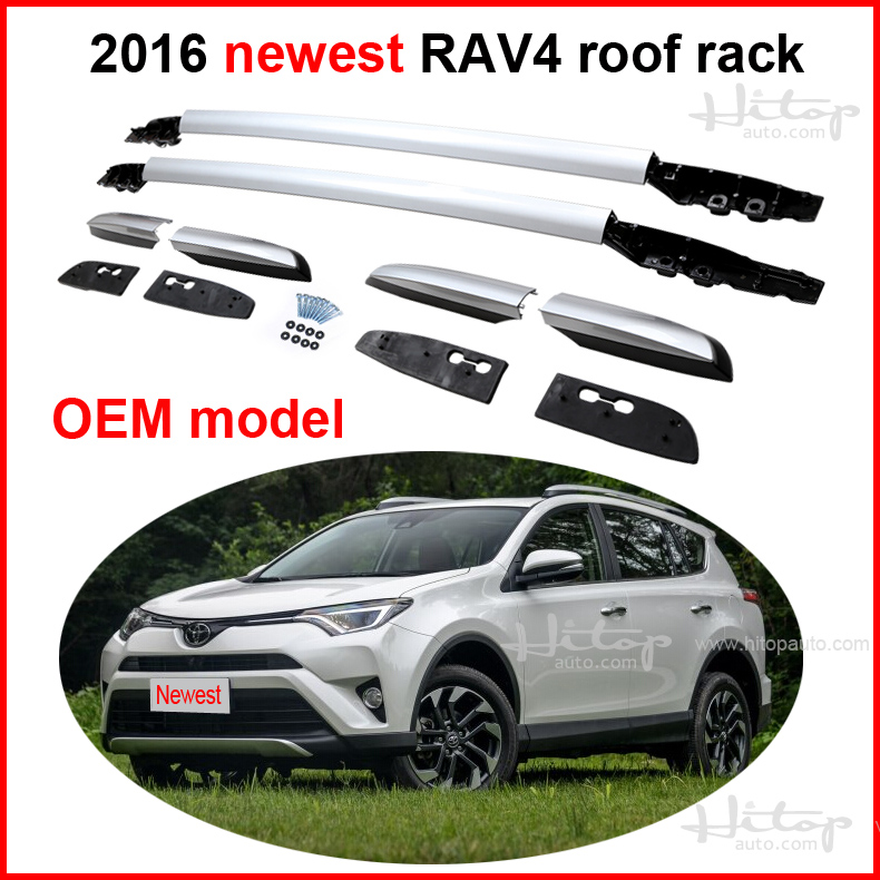 For Toyota Newest Rav4 2016 Roof Rack Roof Rail Luggage
