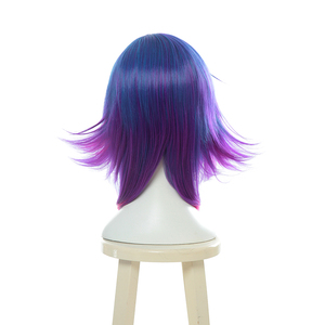 Image 3 - L email wig LOL Neeko Cosplay Wigs The Curious Chameleon Game Cosplay Wig Heat Resistant Synthetic Hair Perucas Cosplay Wig
