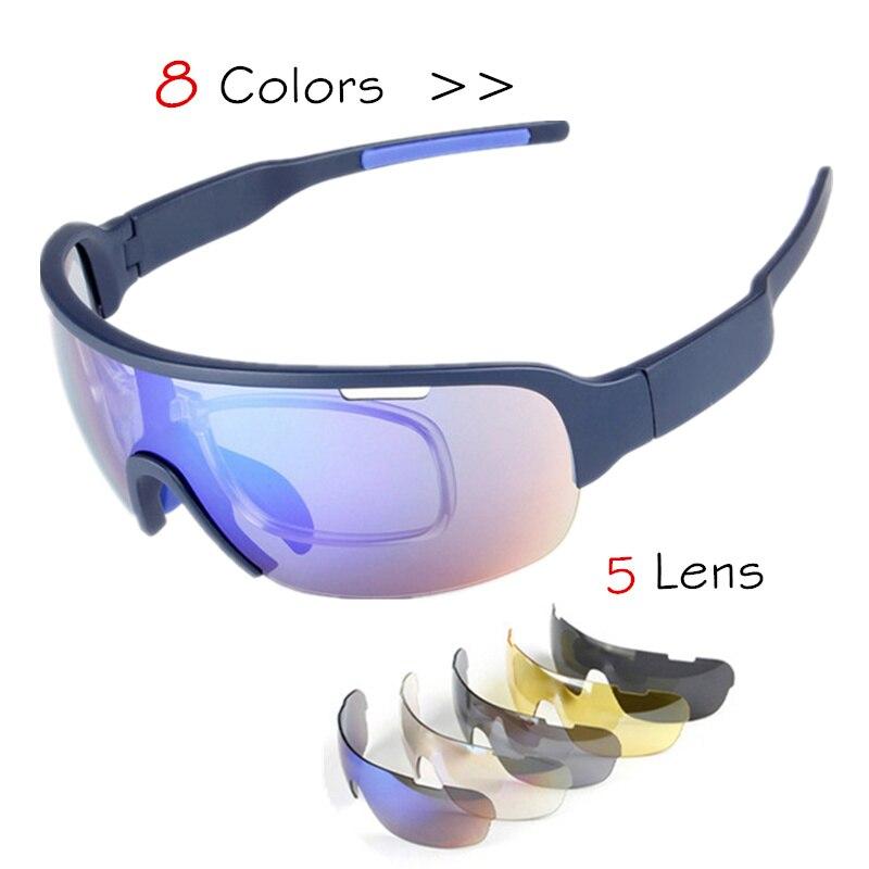 0c60a4b075e3e8 Beste Koop 5 ST Lens TR90 Mens Gepolariseerde Fiets Zonnebril Set UV400  Racing Bike Zonnebril Sport Bril Fietsen Rijden Vissen Eyewear Goedkoop