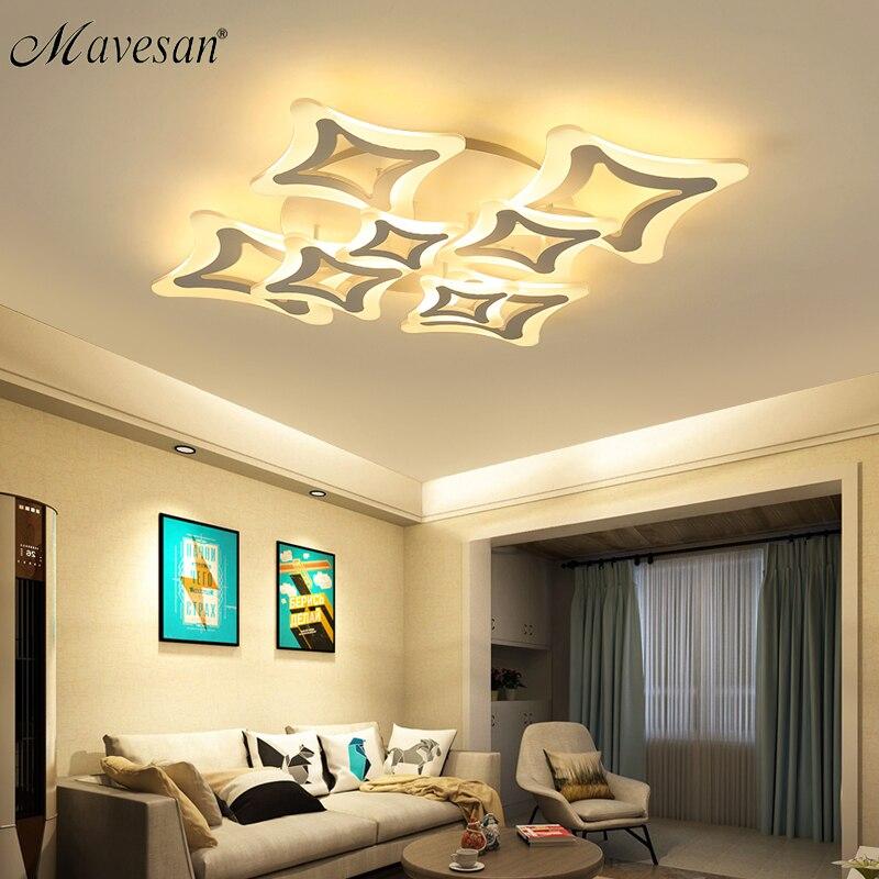 2018 bedroom acrylic Ceiling Lights for kids room Ultrathin ceiling led plafond Modern modern lampshade Lamparas de techo