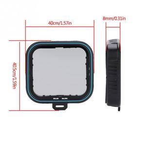 Image 2 - TELESIN 광학 유리 중립 밀도 ND4/8/16 ND 페이더 필터는 Gopro Hero 5 & 6 용으로 설정됩니다.